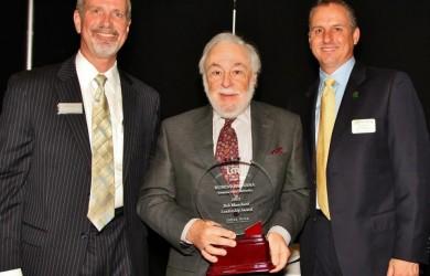 2012 Bob Blanchard Leadership Award winner Ruben Armiñana